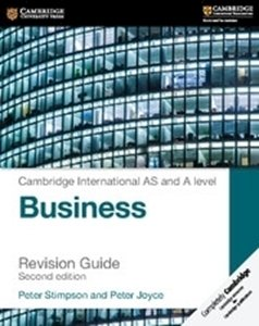 Picture of Cambridge International AS & A Level Business Revision Guide