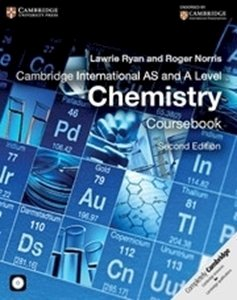 Picture of Cambridge International AS & A Level Chemistry Coursebook with CD-ROM  (Cambridge University Press)