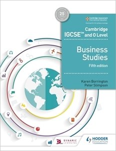 Picture of Cambridge IGCSE and O Level Business Studies 5th Edition (Macmillan)