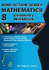 Picture of Mind Action Series Mathematics Geometry Workbook NCAPS (2016) Grade 8 (AllCopy)