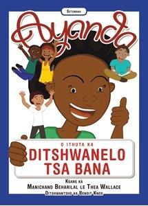 Picture of Ayanda O Ithuta Ka Ditshwanelo Tsa Bana (Setswana) by Manichand Beharilal & Thea Wallace
