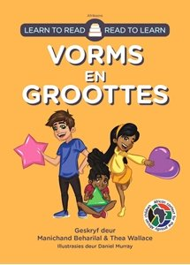 Picture of Learn to Read - Read to Learn Vorms en Groottes (Afrikaans) by Manichand Beharilal & Thea Wallace