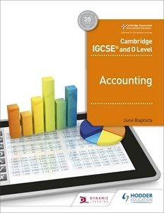 Picture of Cambridge IGCSE And O Level Accounting Learner's Book (Macmillan South Africa 2019-2020)