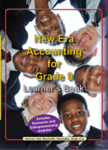 Picture of New Era Accounting Grade 9 Learner Book (New Generation Publishers 2019-2020)