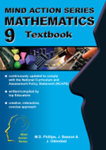 Picture of Mind Action Series Mathematics Textbook NCAPS Grade 9 (AllCopy 2019-2020)