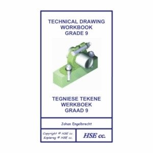 Picture of Technical Drawing Workbook Grade 9 / Tegniese Tekene Werkboek Graad 9 (HSE Publishers 2019-2020)