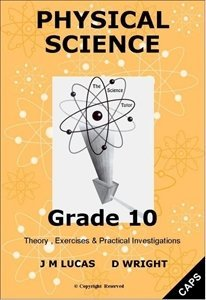 Picture of The Science Tutor  Grade 10 Physical Science  CAPS (JNM Publishers)