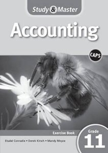 Picture of Study & Master Accounting Exercise Book Grade 11 (Cambridge University Press 2019-2020)