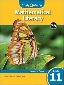 Picture of Study & Master Mathematical Literacy Learner's Book Grade 11 (Cambridge University Press 2019-2020)