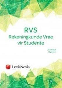 Picture of Rekeningkunde Vrae vir Studente 3de Uitgawe ( Lynne Cornelius) LexisNexis 2019-2020