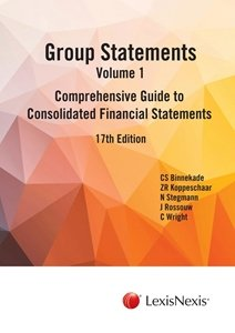 Picture of Group Statements: Volume 1: Comprehensive Guide to Consolidated Financial Statements 17th Edition (LexisNexis 2019-2020)