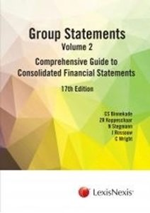 Picture of Group Statements: Volume 2: Comprehensive Guide to Consolidated Financial Statements 17th Edition (LexisNexis 2019-2020)