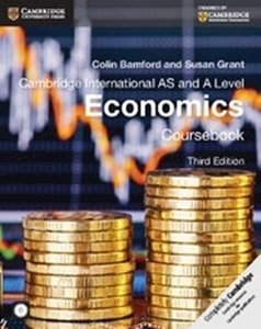 Picture of Cambridge International AS & A Level Economics Coursebook with CD-ROM (Cambridge University Press)