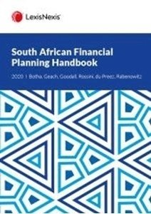 Picture of South African Financial Planning Handbook 2020 (Brian Goodall, Lee Rossini et al) LexisNexis 2019-2020