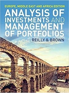 Picture of Analysis of Investments and Management of Portfolios, by Frank Reilly (Cengage 2019-2020)