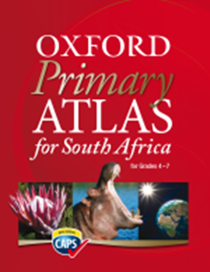 Picture of Oxford Primary Atlas for South Africa (Revised) CAPS (Oxford SA 2019-2020)