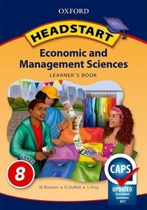Picture of Headstart Economic & Management Sciences Grade 8 Learner's Book (Oxford SA 2019-2020)