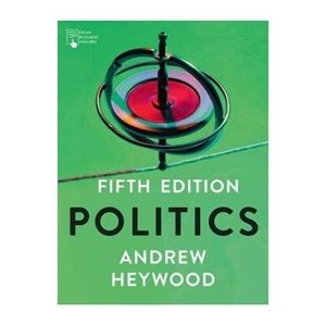Picture of Politics 5th Edition, by Andrew Heywood (Palgrave 2019-2020)