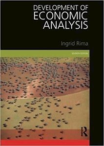 Picture of Development of Economic Analysis 7th Edition, by Ingrid Rima (Routledge JB 2019-2020)