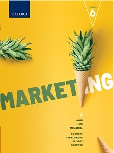 Picture of Marketing 6th Edition, by Lamb, Hair et al (Oxford University Press 2020)