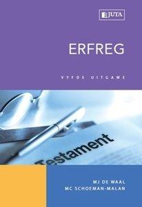 Picture of Erfreg (2015 - 5de uitgawe) (M J de Waal, M C Schoeman-Malan) Juta (2020)