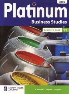 Picture of Platinum Business Studies Grade 11 Learner's Book (CAPS) (Pearson 2019-2020)