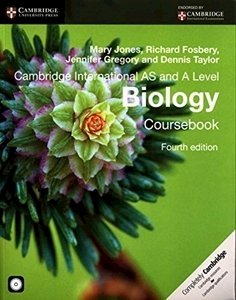 Picture of Cambridge International AS & A Level Biology Coursebook with CD-ROM (Cambridge University Press)