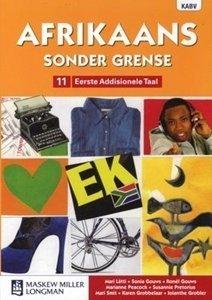 Picture of Afrikaans Sonder Grense Eerste Addisionele Taal Graad 11 Leerderboek (NKABV) (Pearson 2019-2020)