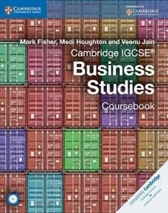 Picture of Cambridge IGCSE Business Studies Coursebook with CD-ROM (2014 edition) (Cambridge 2019-2020)