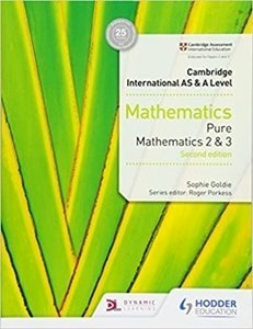 Picture of Cambridge International AS & A Level Maths Pure 2 And 3 Second Edition (Suitable for Senior Secondary)