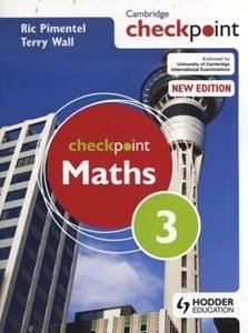 Picture of Checkpoint Mathematics Student's Book 3 (Suitable for Grades 8 - 9)