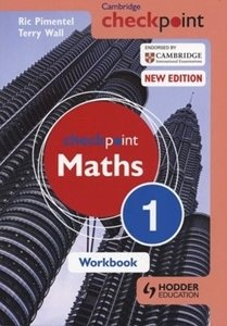 Picture of Checkpoint Mathematics Workbook 1 (Suitable for Grades 8 - 9)  (Macmillan South Africa 2019-2020)