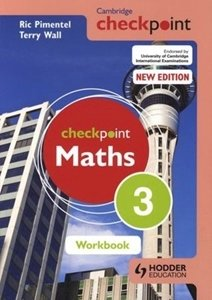 Picture of Checkpoint Mathematics Workbook 3 (Suitable for Grades 8 - 9)