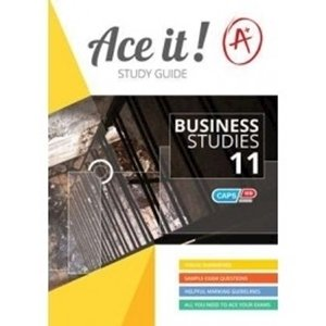 Picture of Ace It! Business Studies Grade 11 (Shuter & Shooter 2019-2020)