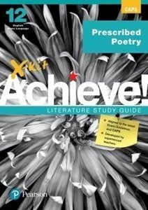 Picture of X-Kit Achieve English Prescribed Poetry HL Grade 12  (Pearson Education 2019-2020)