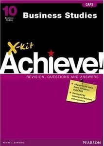 Picture of X-kit Achieve! Grade 10 Business Studies (Pearson Education 2019-2020)