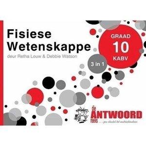 Picture of Die Antwoord Reeks Graad 10 Fisiese Wetenskappe '3 in 1' (The Answer Series 2019-2020)