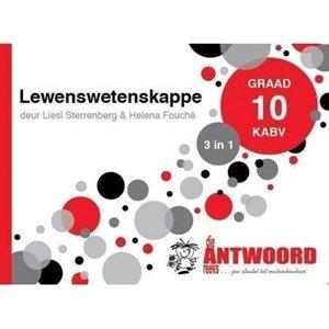 Picture of Die Antwoord Reeks Graad 10 Lewenswetenskappe '3 in 1' CAPS (The Answer Series 2019-2020)