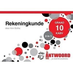 Picture of Die Antwoord Reeks Graad 10 Rekeningkunde '3 in 1'  (The Answer Series 2019-2020)