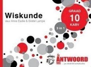 Picture of Die Antwoord Reeks Graad 10 Wiskunde '3 in 1'  (The Answer Series 2019-2020)
