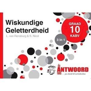 Picture of Die Antwoord Reeks Graad 10 Wiskundige Geletterheid '3 in 1' (The Answer Series 2019-2020)