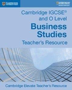 Picture of Cambridge IGCSE and O Level Business Studies Teacher's Resource Elevate (Cambridge Online 2020)