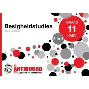 Picture of Die Antwoord Reeks Graad 11 Besigheidstudies '3 in 1' (The Answer Series 2019-2020)