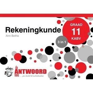 Picture of Die Antwoord Reeks Graad 11 Rekeningkunde '3 in 1' (The Answer Series 2019-2020)