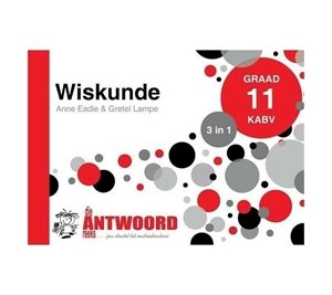 Picture of Die Antwoord Reeks Graad 11 Wiskunde '3 in 1' (The Answer Series 2019-2020)