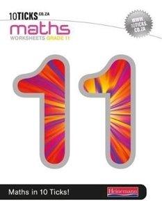 Picture of 10Ticks Mathematics Workbook Grade 11 (Pearson 2019-2020)
