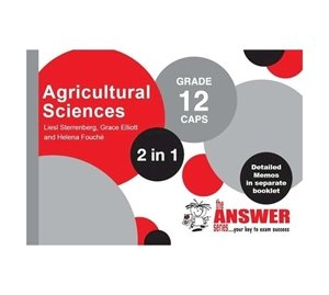 Picture of The Answer Series Grade 12 Agricultural Sciences '2 in 1' (The Answer Series 2019-2020)