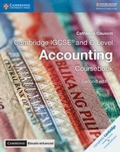 Picture of Cambridge IGCSE and O Level Accounting Coursebook with Cambridge Elevate Enhanced Edition (2 Year Licence) (Cambridge University Press 2020)