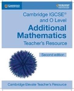 Picture of Cambridge IGCSE and O Level Additional Mathematics Cambridge Elevate Teacher's Resource (Cambridge 2019-2020)