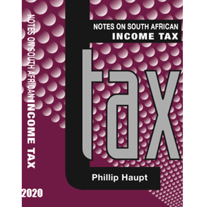 Picture of Notes on South African Income Tax 2020, by Huxham & Haupt (Hedron 2020)